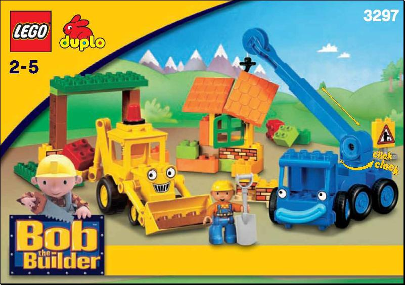 1 Bob The Builder Lofty Lego