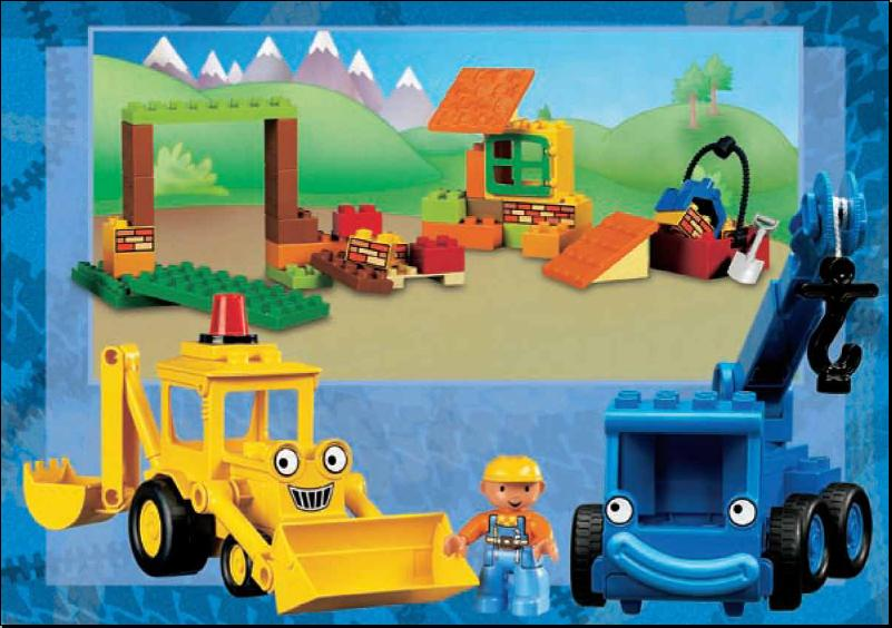 10 Bob The Builder Lofty Lego
