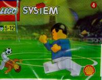 View Instructions For 3305-1 - SHELL Promotional Set: Soccer: World Team Player