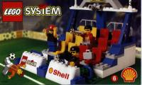 View Instructions For 3308-1 - SHELL Promotional Set: Soccer: Tribune
