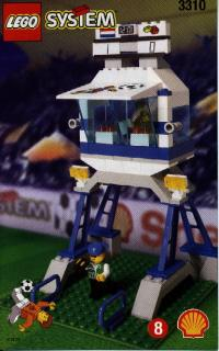 View Instructions For 3310-1 - SHELL Promotional Set: Soccer: Commentator and Press Box