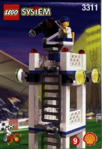 View Instructions For 3311-1 - SHELL Promotional Set: Soccer: Camera Tower