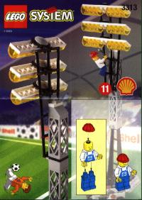 View Instructions For 3313-1 - SHELL Promotional Set: Soccer: Light Poles