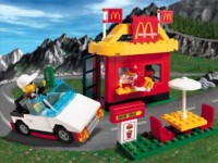 View Instructions For 3438-1 - {McDonald's Promotional Set} LEGO McDonald's Restaurant