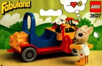 View Instructions For 3627-1 - Bonnie Rabbit has a truck laden with flowers