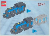 View Instructions For 3741-1 - My Own Train - Large Engine