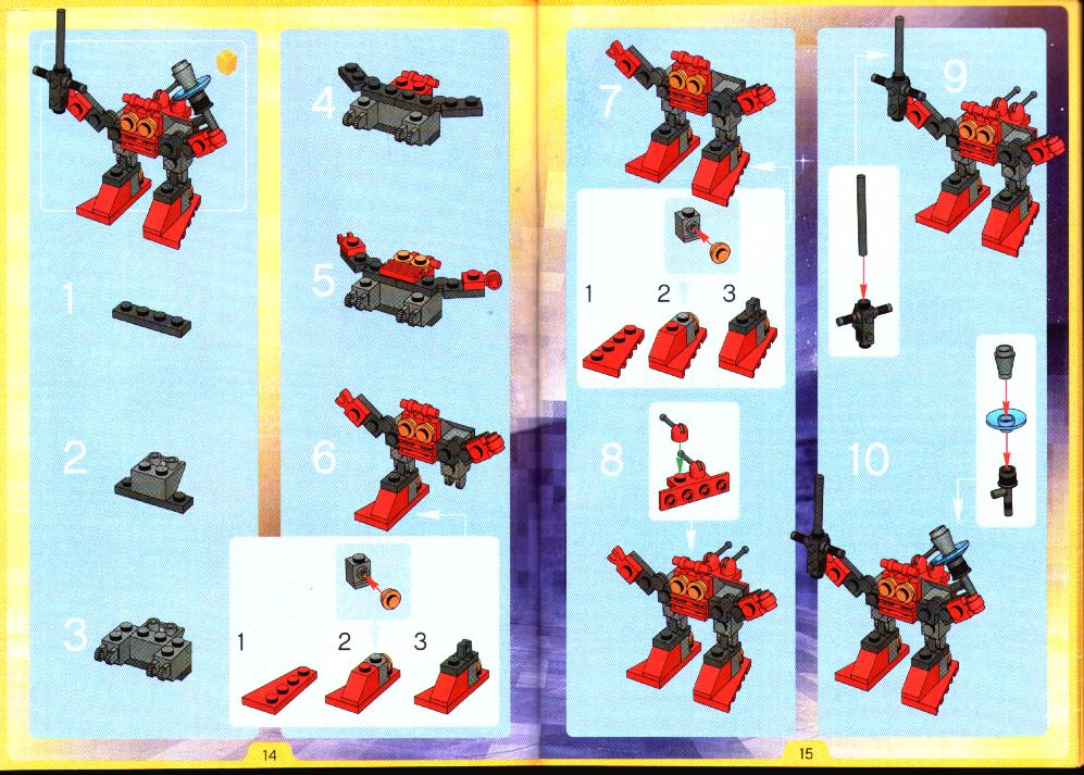 how to build cool lego robots