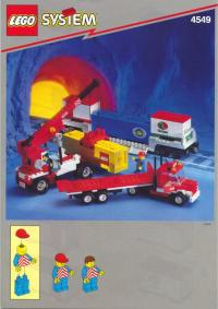 View Instructions For 4549-1 - Road 'N Rail Hauler