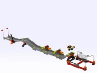 View Instructions For 4586-1 - Stunt Race Track