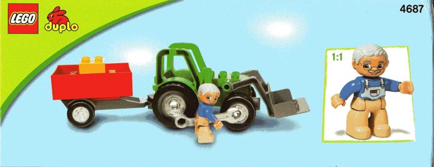 lego tractor trailer instructions