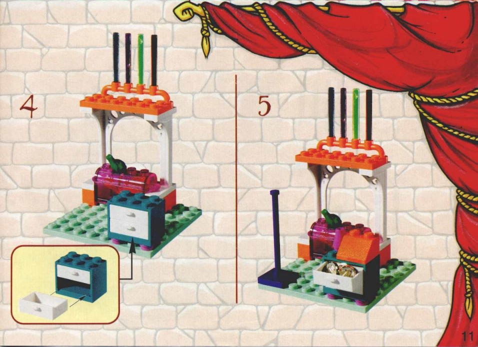 lego harry potter diagon alley instructions