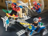 View Instructions For 4853-1 - Spider-Man's Street Chase
