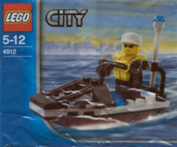 View Instructions For 4912-1 - Police Jet Ski