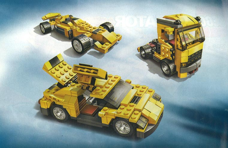 lego cars 2 instructions