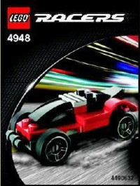 View Instructions For 4948-1 - Black and Red Racer