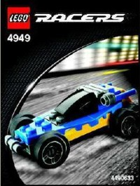 View Instructions For 4949-1 - Blue and Yellow Racer