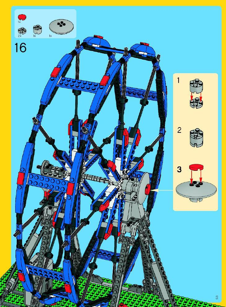 lego wedo ferris wheel instructions