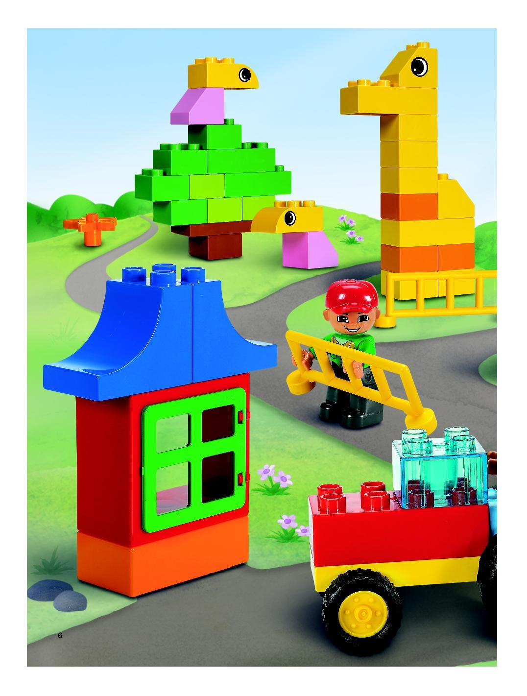 Instructions For 5488 1 Duplo Farm Building Set Bricksargzcom