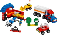 View Instructions For 5489-1 - Ultimate LEGO Vehicle Building Set