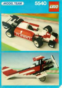 View Instructions For 5540-1 - Formula 1 Racer