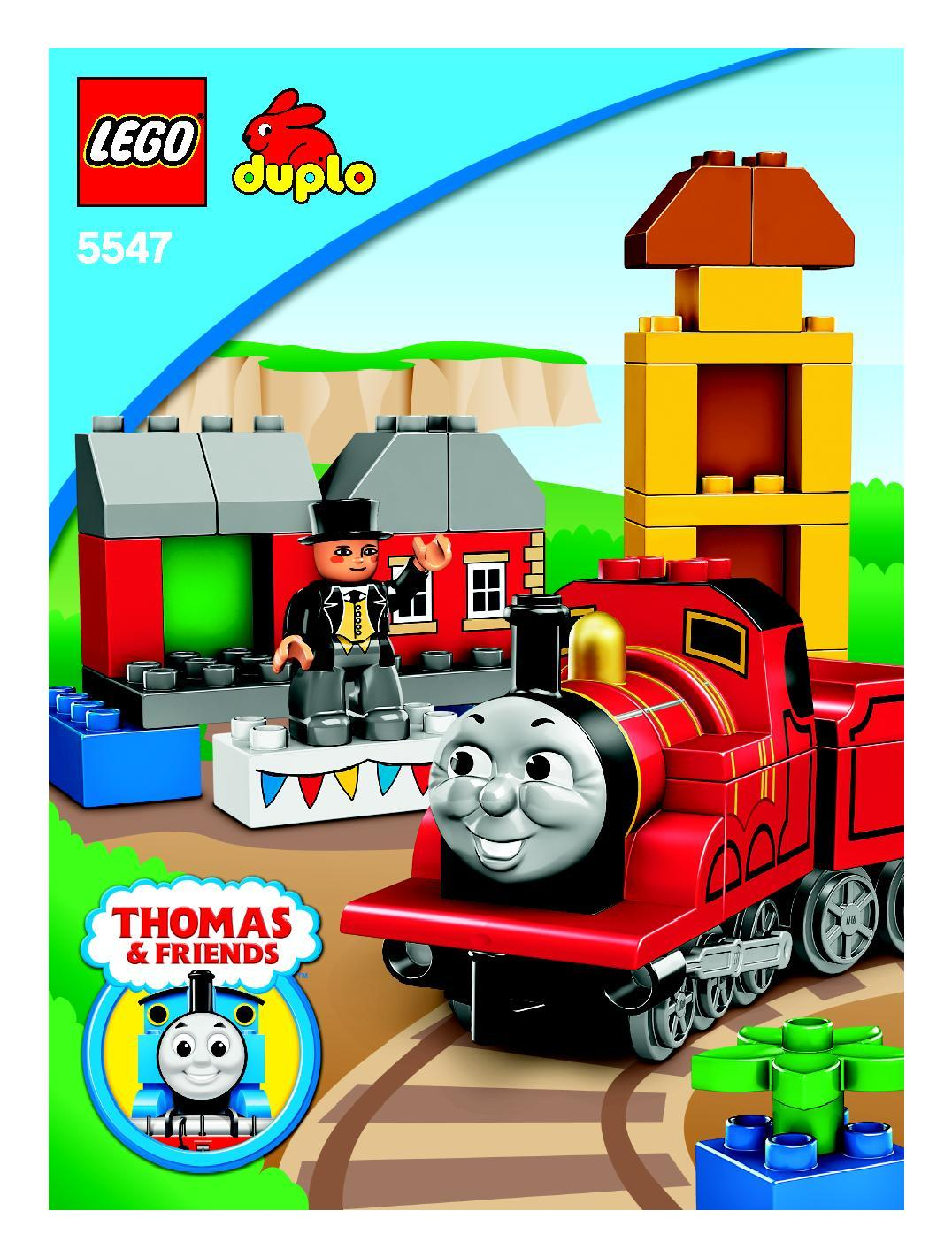 Instructions For 5547 1 James Celebrates Sodor Day Bricksgz