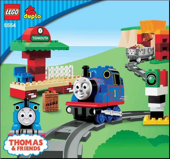 Instructions For 5554 1 Thomas Load And Carry Train Set Bricks