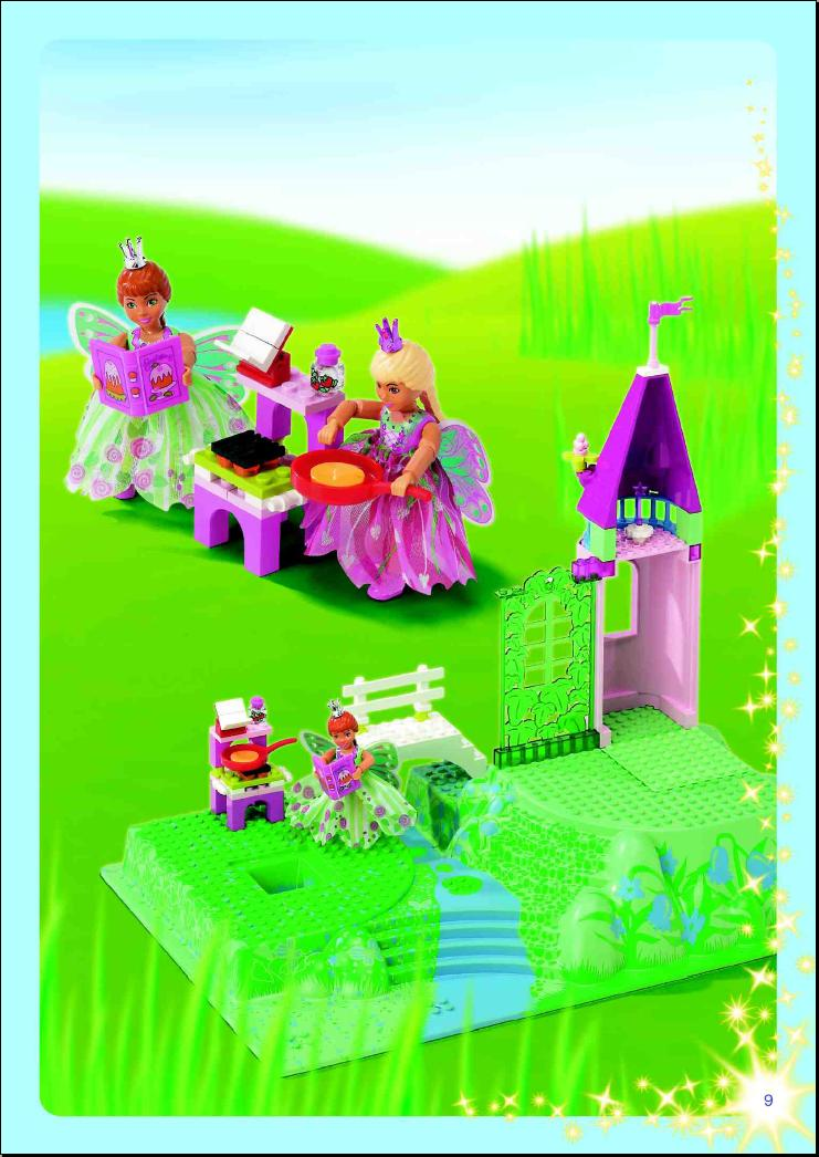 Instructions For 5862 1 Flower Fairy Party Bricksgz