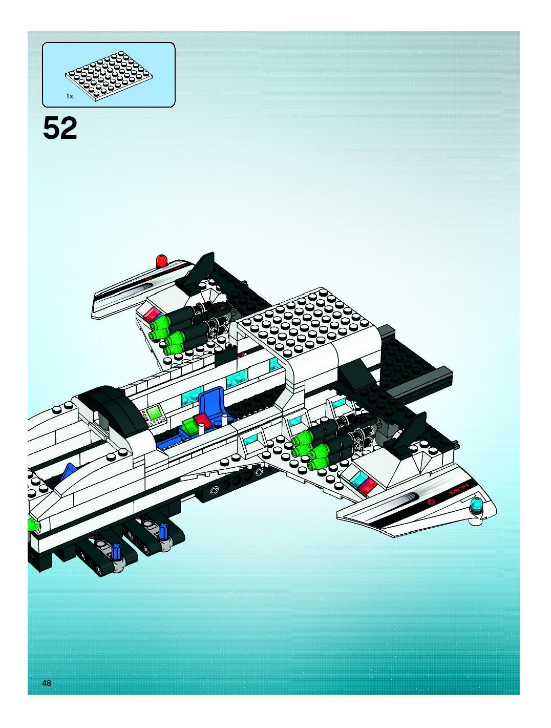 lego space police instructions 5974