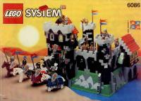 View Instructions For 6086-1 - Black Knight's Castle