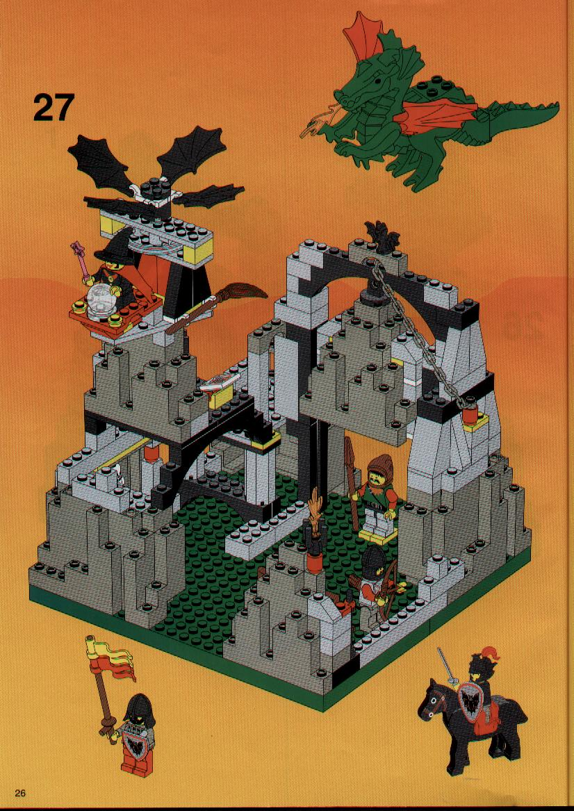 Instructions For 6087 1 Witch S Magic Manor Bricks