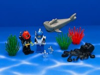 View Instructions For 6104-1 - Aquacessories / Aquanauts & Aquasharks