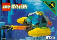 View Instructions For 6125-1 - Sea Sprint 9 / Aquanaut Octopod