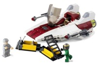 View Instructions For 6207-1 - A-Wing Fighter