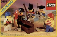 View Instructions For 6251-1 - Pirate Mini Figures