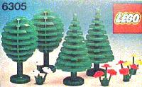 View Instructions For 6305-1 - Trees & Flowers