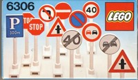 View Instructions For 6306-1 - Road Signs