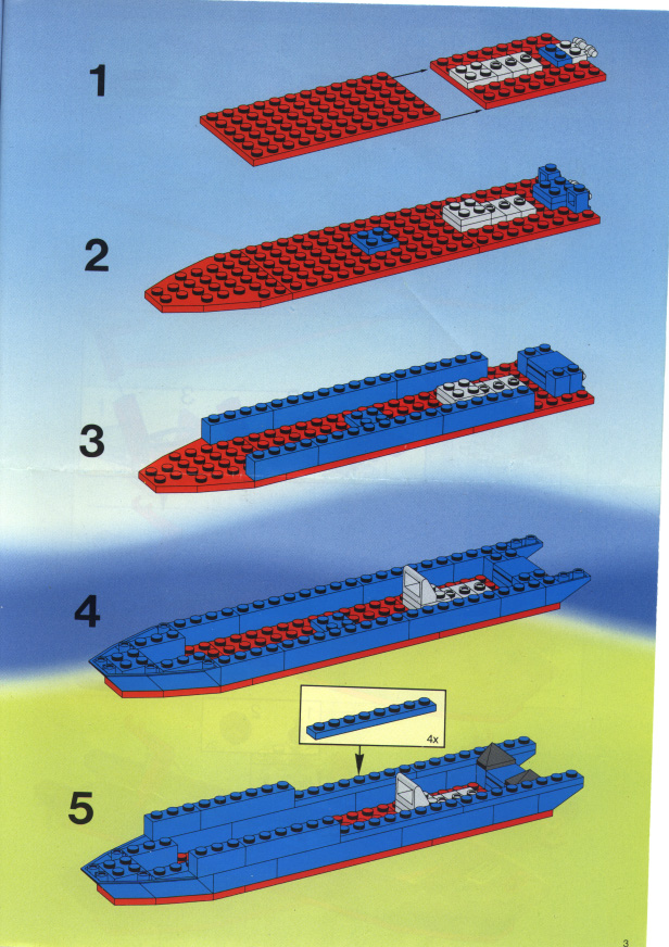 Instructions For 6353 1 Coastal Cutter Bricksgz