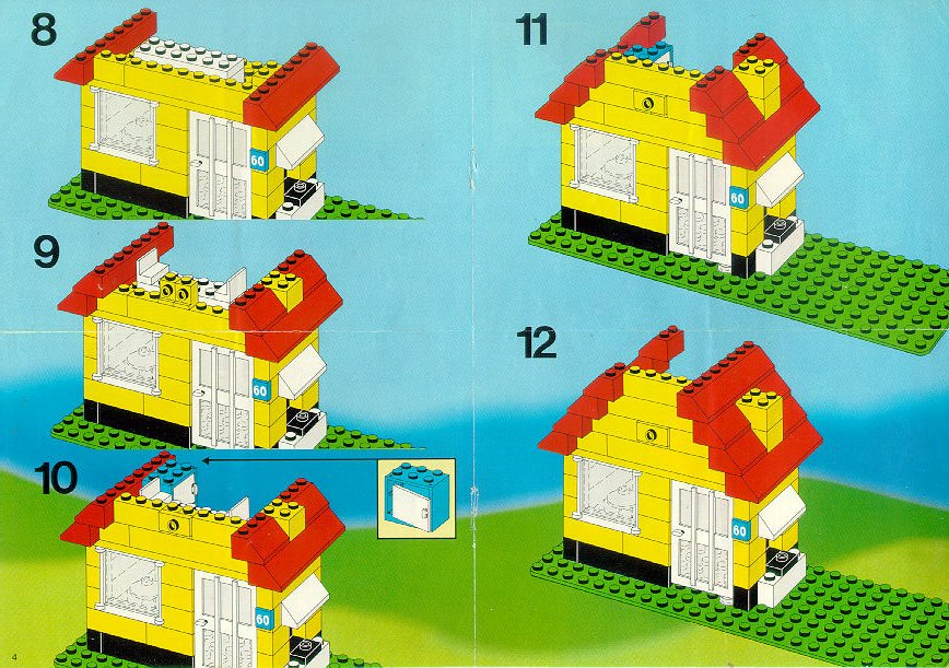 lego small cottage instructions