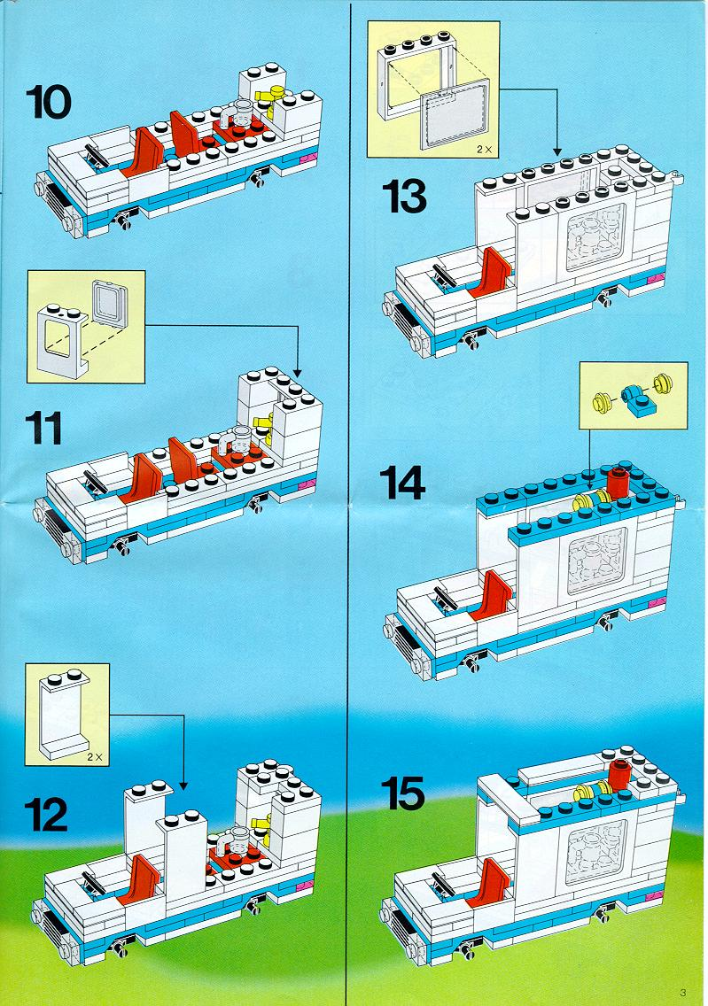 small lego house instructions