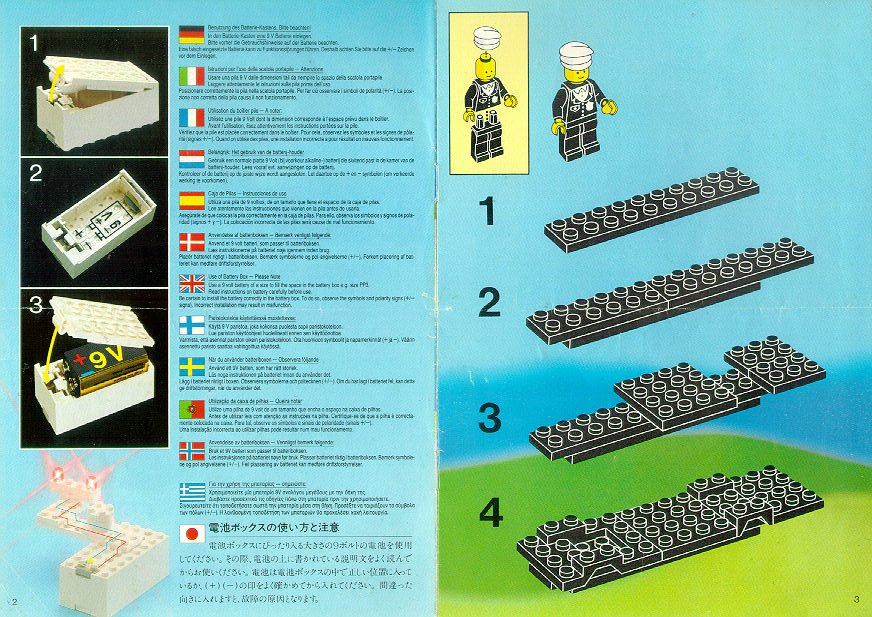 Lego Police Truck Instructions