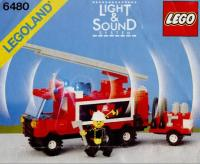 View Instructions For 6480-1 - Light & Sound Hook and Ladder Truck