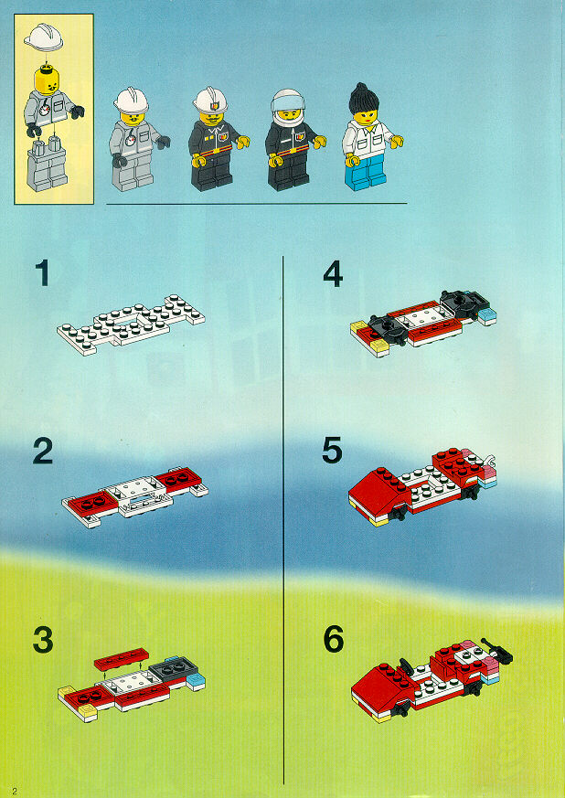 Instructions For 6571 1 Flame Fighters Bricksgz
