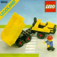 View Instructions For 6652-1 - Construction Truck
