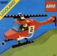 View Instructions For 6657-1 - Fire Patrol Copter