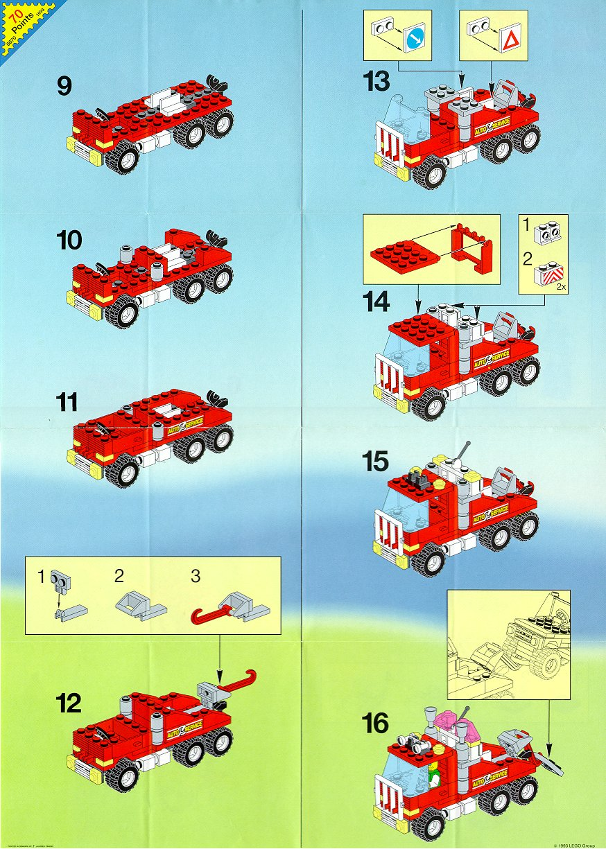 LEGO Town Rescue Rig 6670