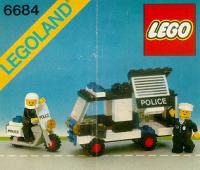 View Instructions For 6684-1 - Police Patrol Squad