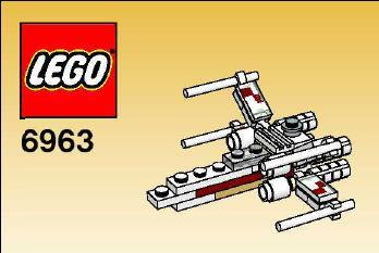View Instructions For 6963-1 - X-wing Fighter™