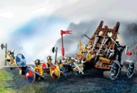 View Instructions For 7020-1 - Army of Vikings with Heavy Artillery Wagon