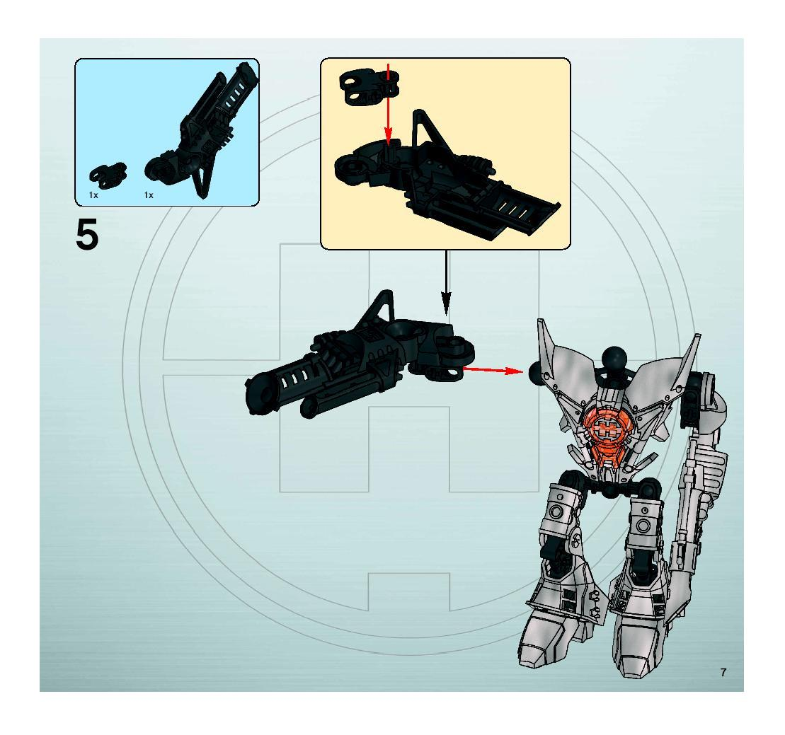 hero factory xplode instructions