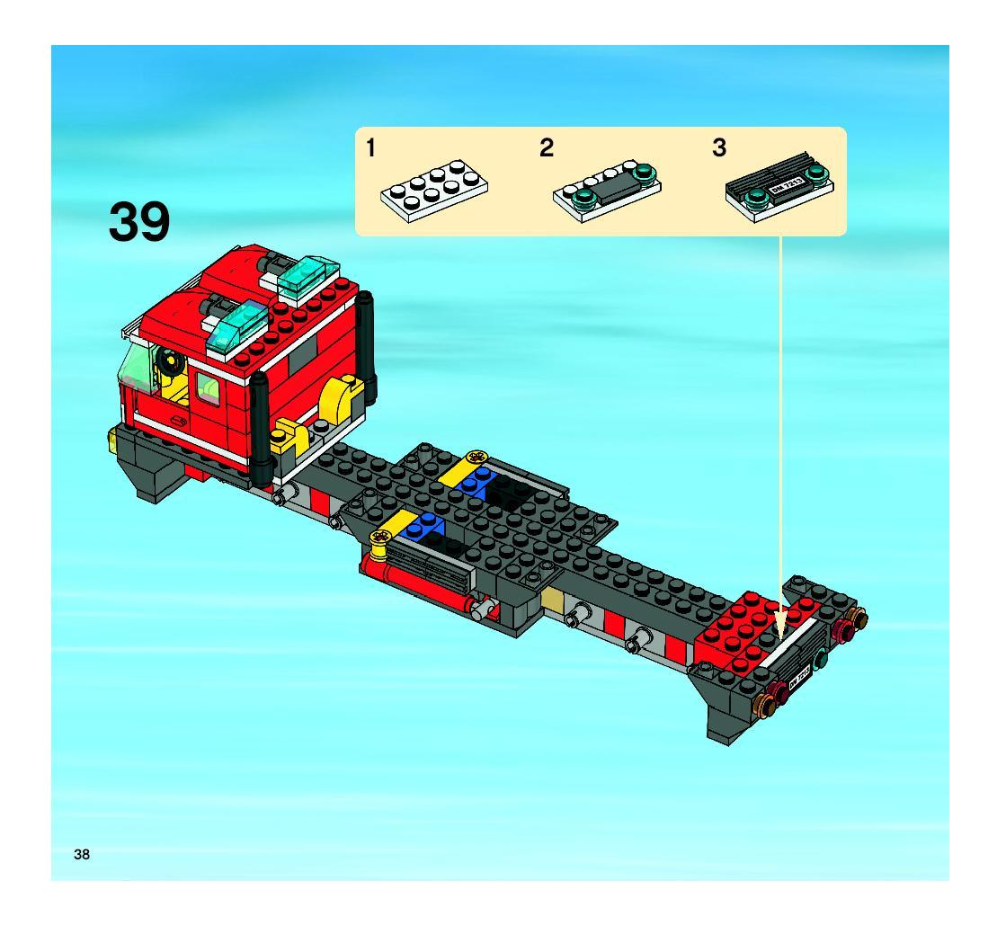 Lego City Fire Truck Video